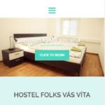 hostel folks webdizajn mobil