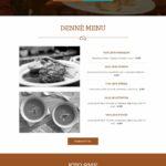 šablóna pre reštauráciu domovská stránka