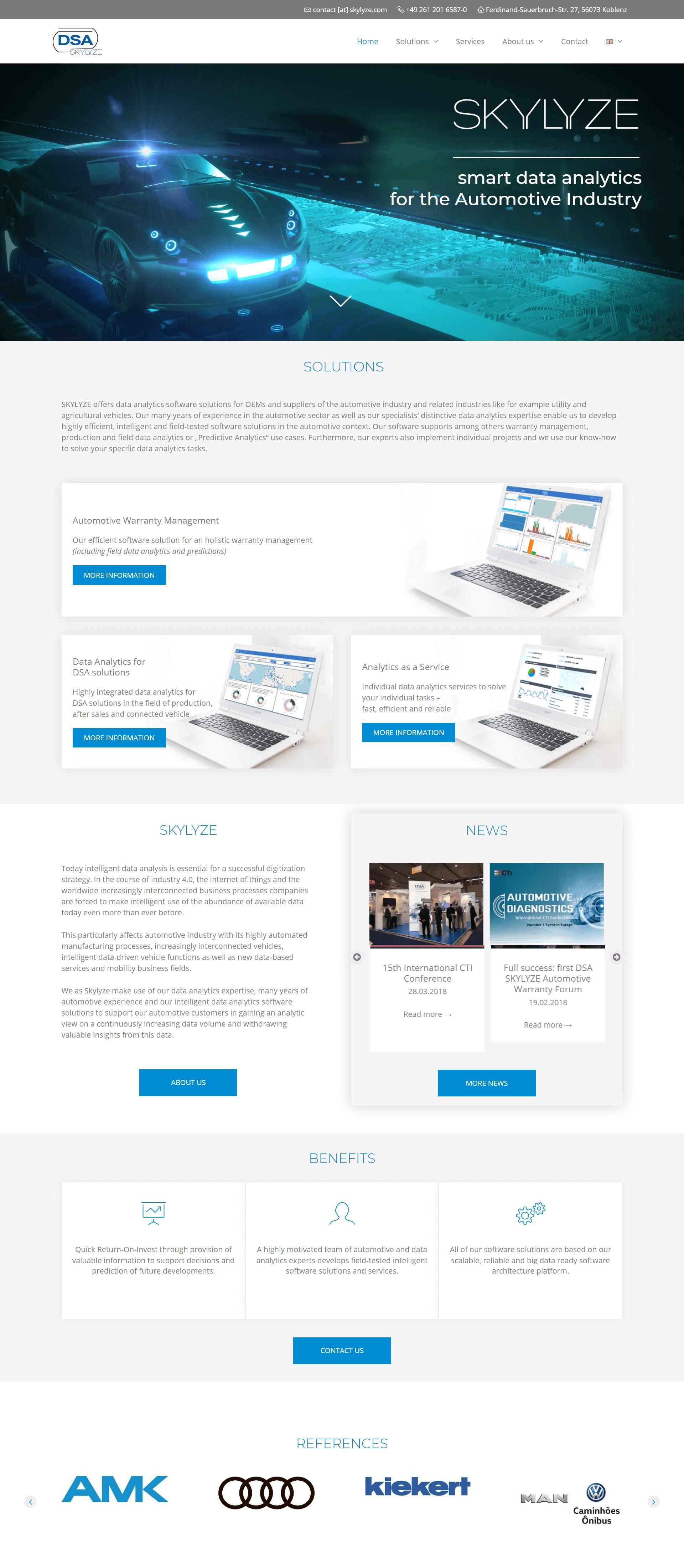 skylyze webdizajn