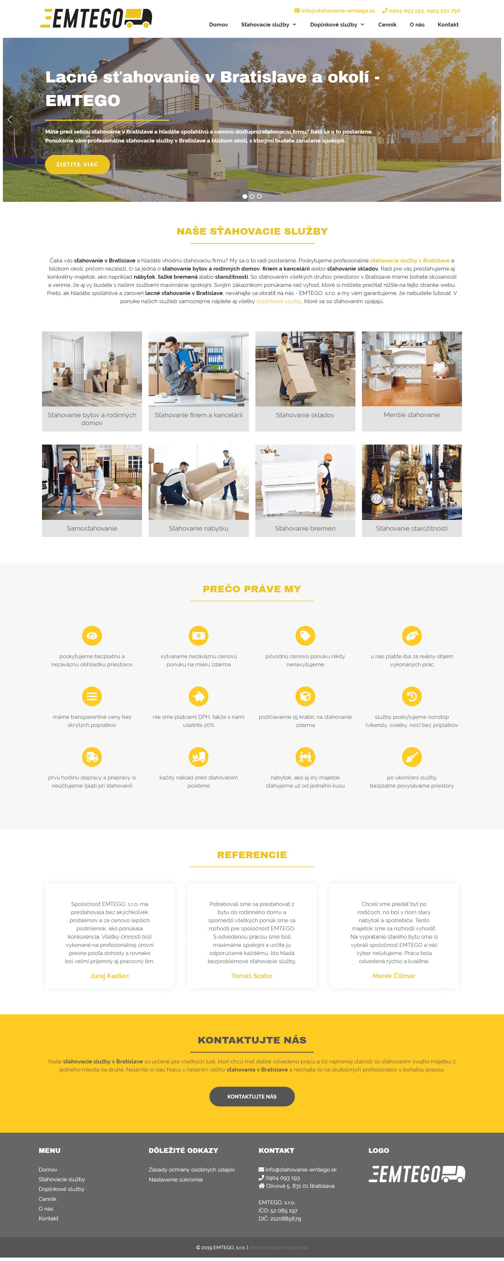 Vytvoríme vám pekné a. bezplatne vám poradíme odľadom tvorby webu, e-shopu alebo online marketingu.